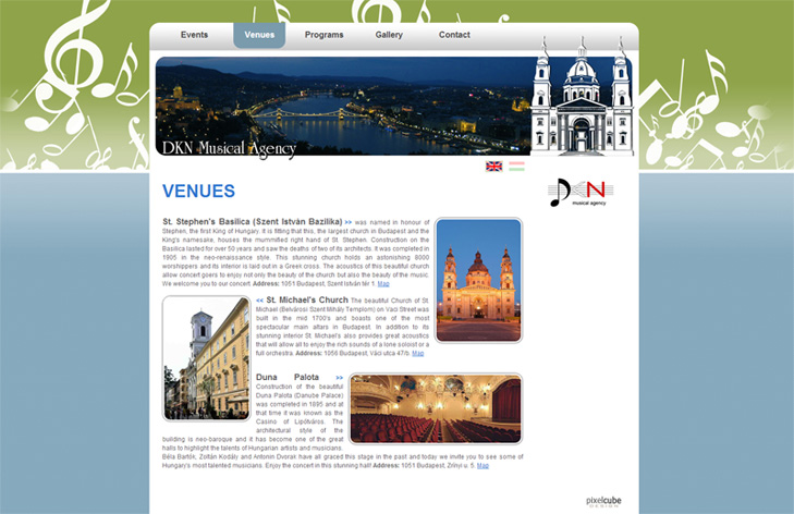 Concerts in Budapest